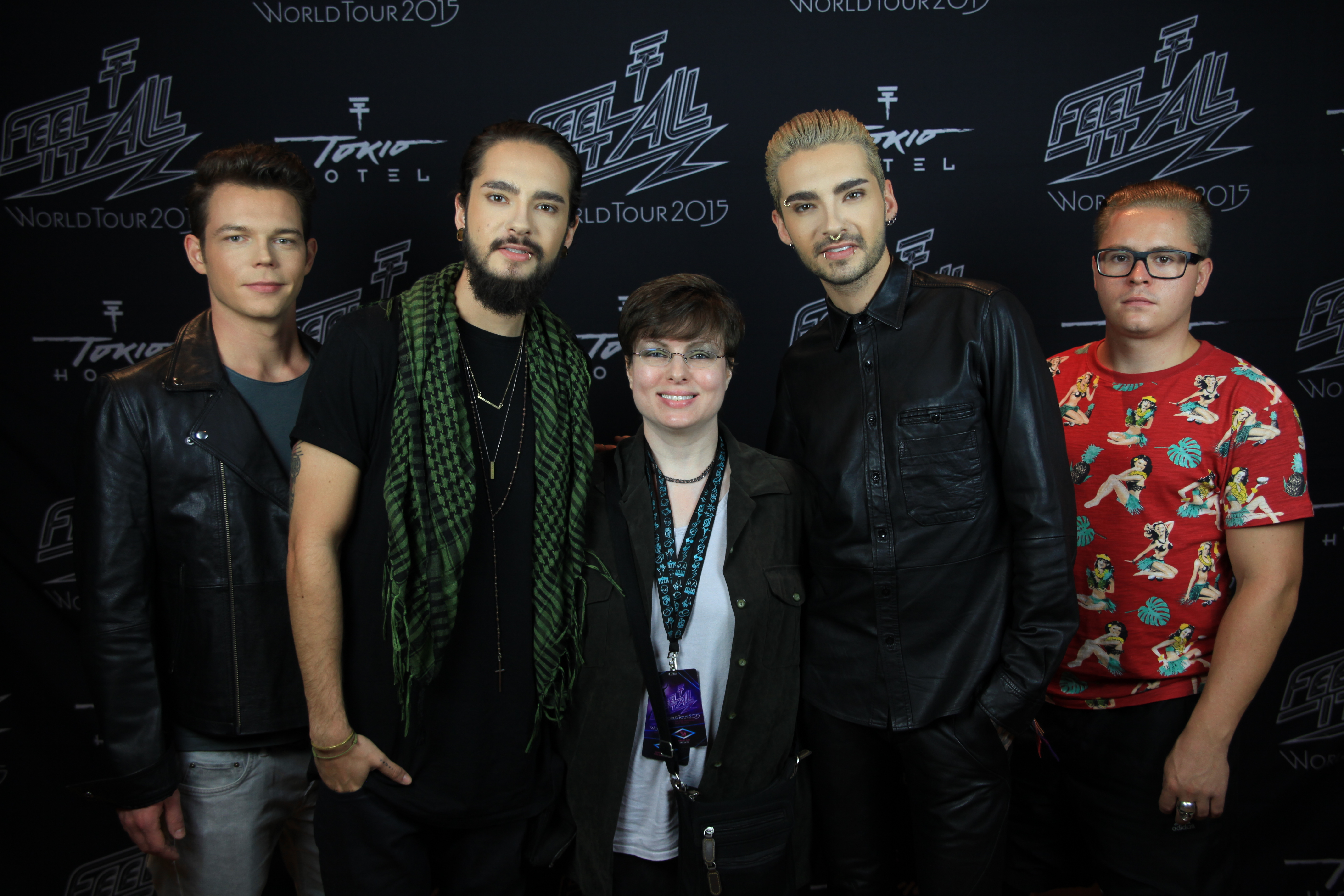 Meeting Tokio Hotel Cleveland Ohio House of Blues August 9